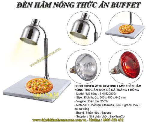 đèn hâm nóng thức ăn đơn