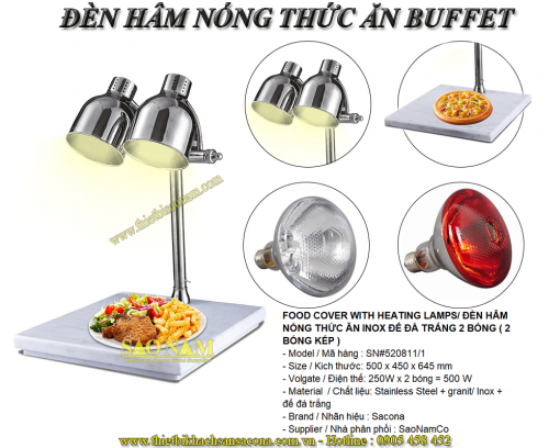 đèn hâm nóng thức ăn
