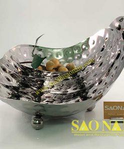 Thuyền Salad Inox Sâu Lòng Chân Tròn SN#520154