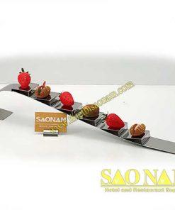 Giá Inox Trưng Bày Sushi SN#520302