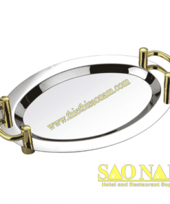 Khay Để Trái Cây Olval ( Tay Cầm Vàng ) SN#520402