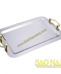 Khay Để Trái Cây Hcn ( Tay Cầm Vàng ) SN#520404