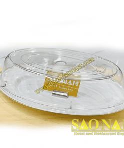 Nắp Chụp Thức Ăn Nhựa Oval SN#520561