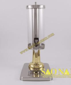 Bình Đựng Nước Trái Cây 1 Ngăn ( Chân Inox Vàng ) SN#520707