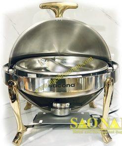 Nồi Hâm Thức Ăn Buffet Chân Vàng SN#520882