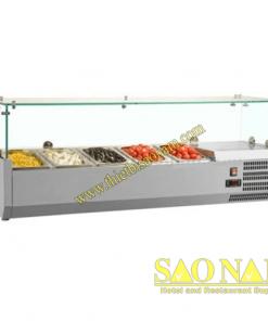 Tủ Trưng Bày Nguyên Liệu Pizza SN#525520