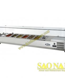 Tủ Trưng Bày Nguyên Liệu Pizza SN#525521-532