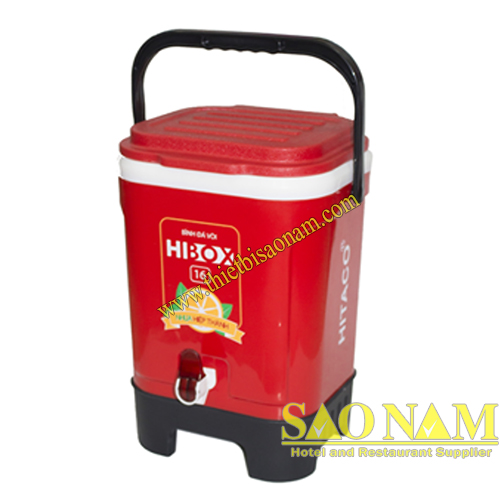 Thùng Đá Hibox 16 Có Vòi SN#620568
