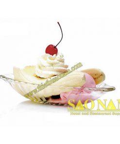 Alaska Banana Split Dish P00116