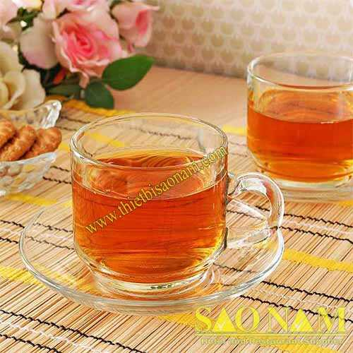 Ly Thủy Tinh Stack Tea Cup P00340