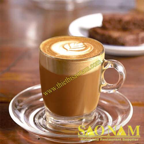 Ly Thủy Tinh Caffé Cappuccino P02441