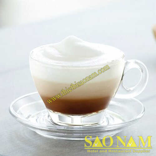 Ly Thủy Tinh Caffé Latte P02443