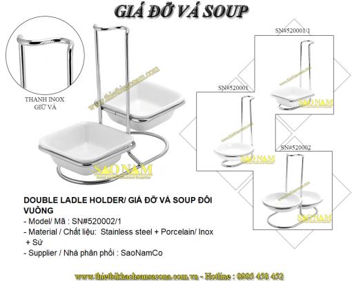 Giá Đỡ Vá Soup Đôi