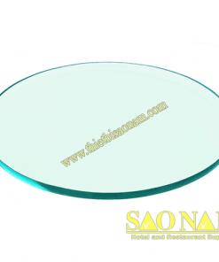 Đĩa Thủy Tinh Tròn SN#520173