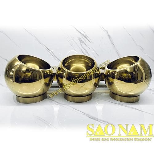 Tô Đựng Gia Vị Inox Vàng SN#520921/1