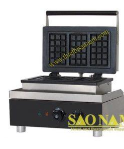 Máy Làm Bánh Waffle 3 Ngăn Dùng Điện SN#525630