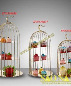 Giá Buffet Hình Lồng Chim SN#530036-038