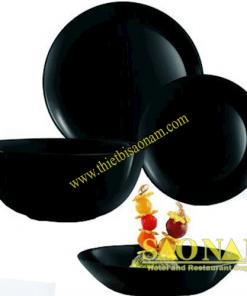 Bộ Tô Chén Dĩa Luminarc Diwali Black