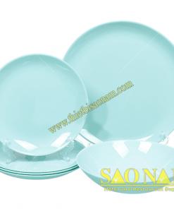 Bộ Tô Chén Dĩa Luminarc Diwali Light Turquoise
