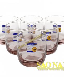 Ly Tt Thấp Luminarc Vigne Ice Pink L0525