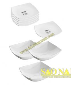 Bộ Tô Chén Dĩa Luminarc Quadrato White
