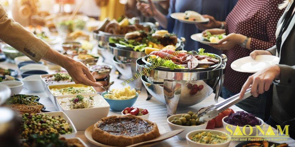 Cung Cấp Dụng Cụ Buffet Phục Vụ Bữa Tiệc Chất Lượng Cho Nhà Hàng Khách Sạn