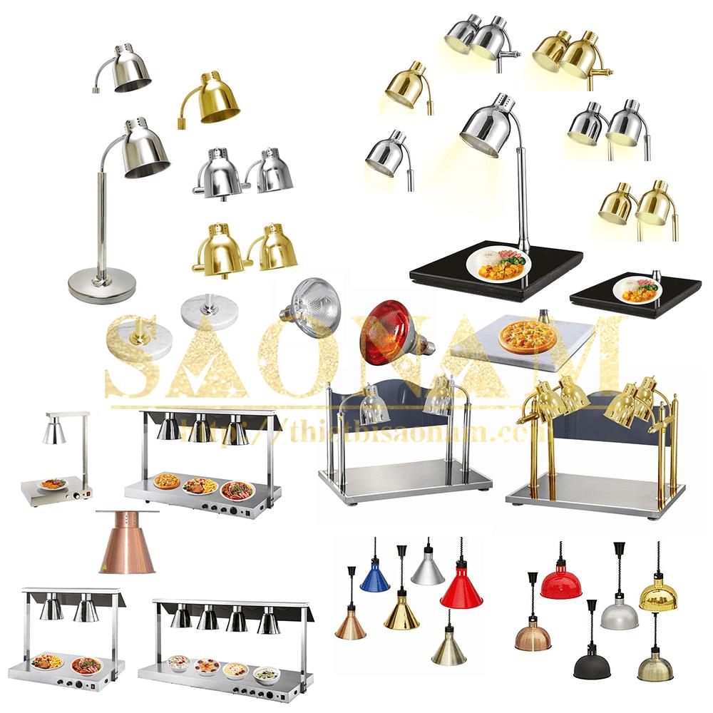 Đèn Hâm Nóng Thức Ăn Cao Cấp Phục Vụ Tiệc Buffet Cho Nhà Hàng Khách Sạn