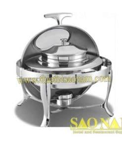 Nồi Hâm Cháo - Soup Sacona Tròn Nắp Kiếng SN#520880