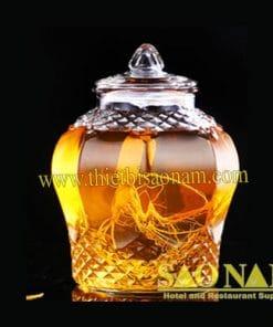 Bình Ngâm Rượu Thủy Tinh SN#530050