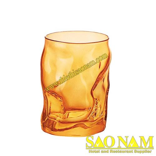 SORGENTE LY THỦY TINH 30 CL MÀU CAM NHẠT-min